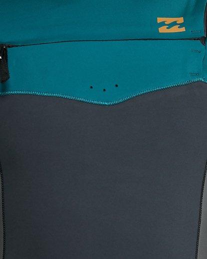 15 202 Revolution Chest Zip Short Sleeve GBS Springsuit Black 9703420 Billabong