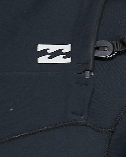 15 202 Revolution Comp Chest Zip Short Sleeve Springsuit Black 9703490 Billabong