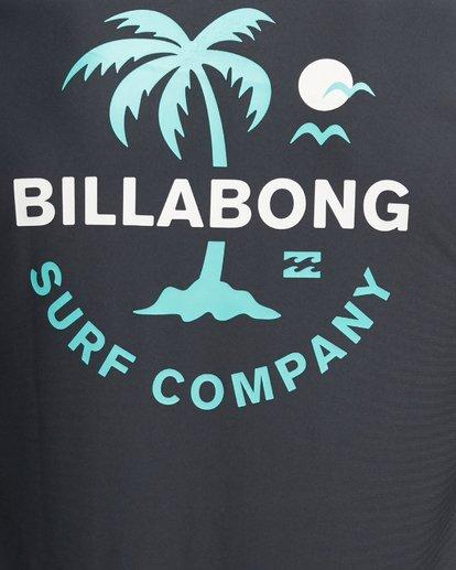 7 Vacation Loose Fit Short Sleeve Rash Vest Black 9703500 Billabong