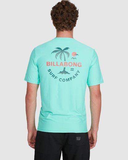 5 Vacation Loose Fit Short Sleeve Rash Vest Blue 9703500 Billabong