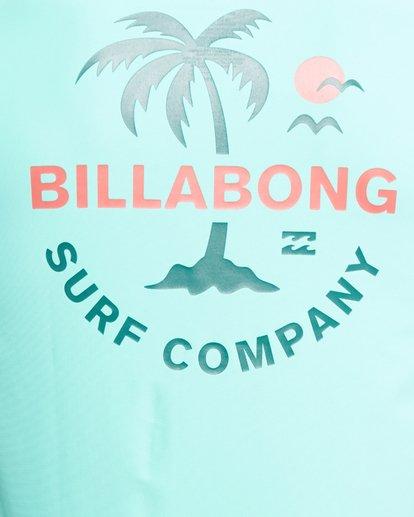 7 Vacation Loose Fit Short Sleeve Rash Vest Blue 9703500 Billabong