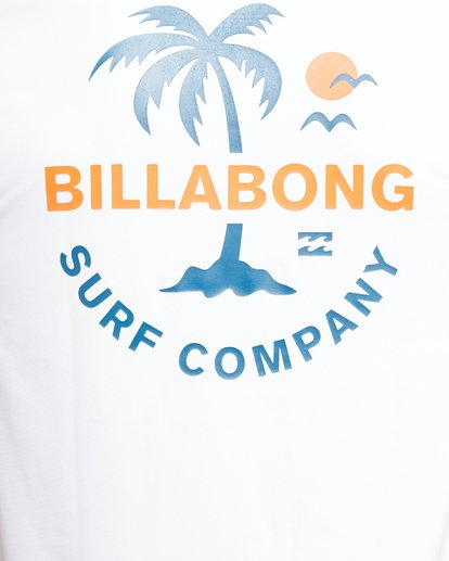 7 Vacation Loose Fit Short Sleeve Rash Vest White 9703500 Billabong