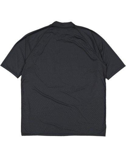 5 Union Regular Fit Short Sleeve Rash Vest Grey 9703506 Billabong