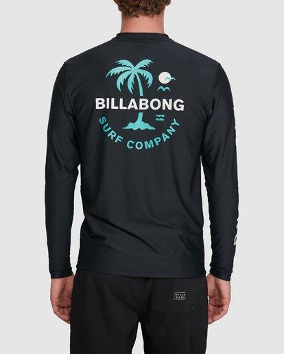 2 Vacation Loose Fit Long Sleeve Rash Vest Black 9703507 Billabong