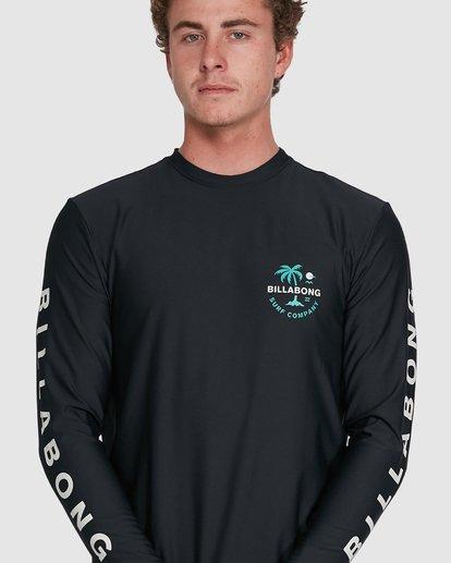 6 Vacation Loose Fit Long Sleeve Rash Vest Black 9703507 Billabong