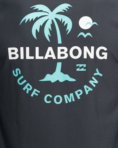7 Vacation Loose Fit Long Sleeve Rash Vest Black 9703507 Billabong