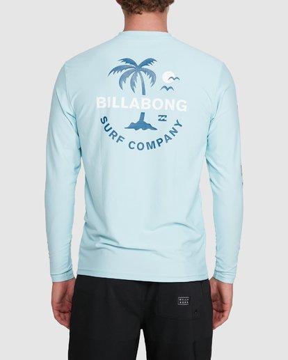 2 Vacation Loose Fit Long Sleeve Rash Vest Blue 9703507 Billabong