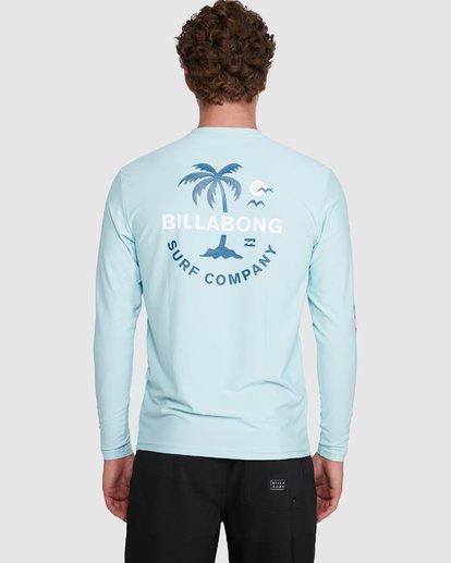5 Vacation Loose Fit Long Sleeve Rash Vest Blue 9703507 Billabong