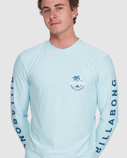 6 Vacation Loose Fit Long Sleeve Rash Vest Blue 9703507 Billabong
