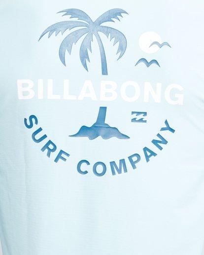 7 Vacation Loose Fit Long Sleeve Rash Vest Blue 9703507 Billabong