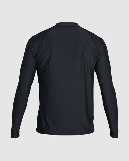 2 Union Regular Fit Long Sleeve Rash Vest Black 9703508 Billabong