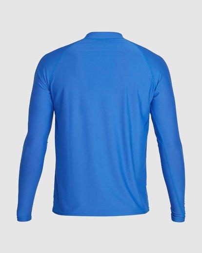 2 Union Regular Fit Long Sleeve Rash Vest Blue 9703508 Billabong