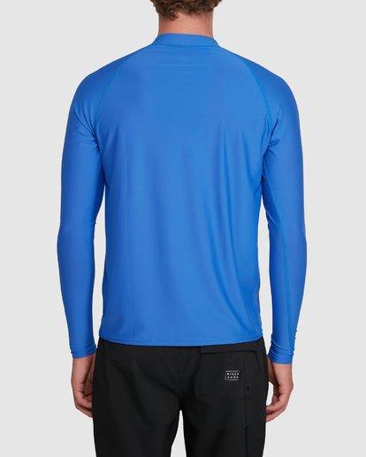 5 Union Regular Fit Long Sleeve Rash Vest Blue 9703508 Billabong