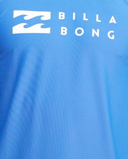 10 Union Regular Fit Long Sleeve Rash Vest Blue 9703508 Billabong