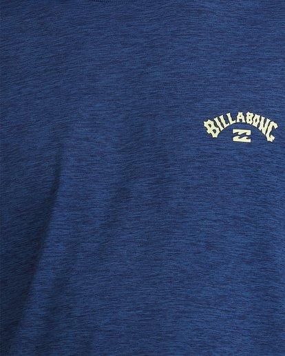 3 Shoreline Loose Fit Long Sleeve Rash Vest Blue 9703512 Billabong