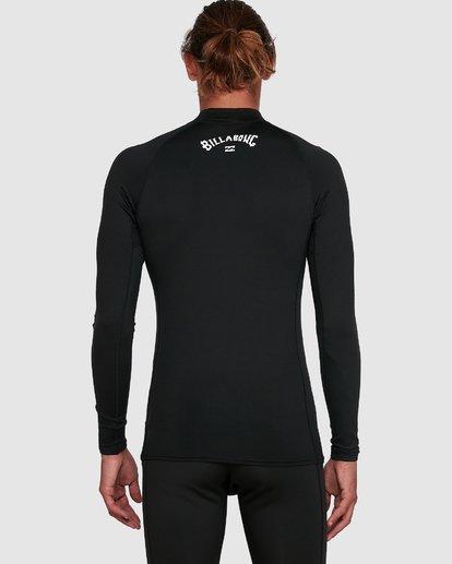 5 All Day Thermal Long Sleeve Rash Vest Black 9703513 Billabong