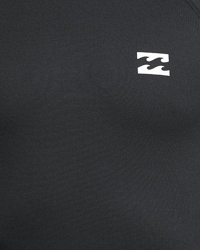 7 All Day Thermal Long Sleeve Rash Vest Black 9703513 Billabong