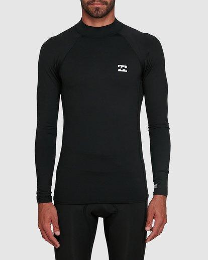 0 All Day Thermal Long Sleeve Rash Vest Black 9703513 Billabong