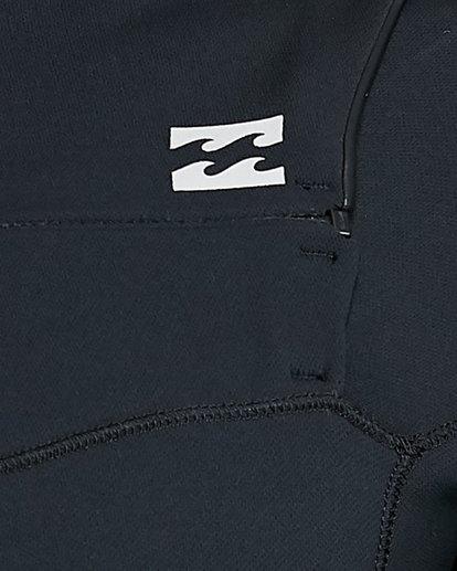 15 202 Revolution Comp Chest Zip Long Sleeve Springsuit Black 9703590 Billabong
