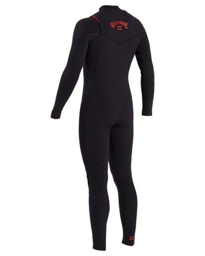 3 3/2 Furnace Comp Chest Zip Fullsuit Black 9703890 Billabong