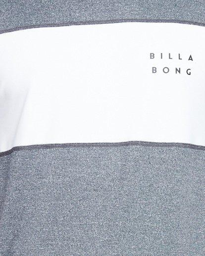 3 Banded Long Sleeve Surf Shirt Grey 9707504 Billabong