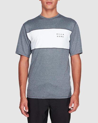 0 Banded Long Sleeve Surf Shirt Grey 9707504 Billabong