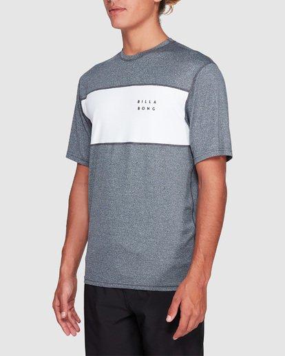 1 Banded Long Sleeve Surf Shirt Grey 9707504 Billabong