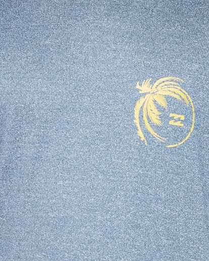 3 Storm Fl Short Sleeve Rashie Blue 9707506 Billabong