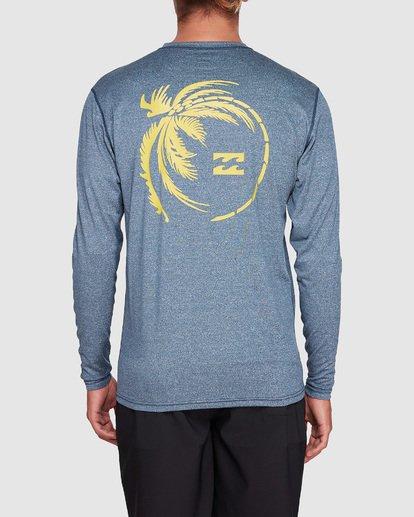 2 Storm Lf Long Sleeve Surf Shirt Blue 9707507 Billabong