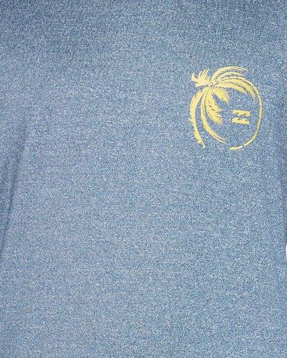 3 Storm Lf Long Sleeve Surf Shirt Blue 9707507 Billabong