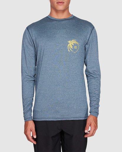 0 Storm Lf Long Sleeve Surf Shirt Blue 9707507 Billabong