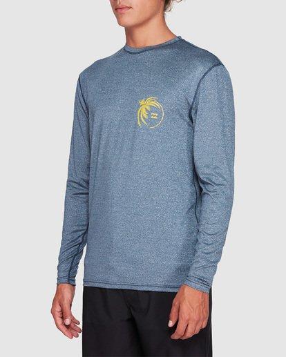 1 Storm Lf Long Sleeve Surf Shirt Blue 9707507 Billabong