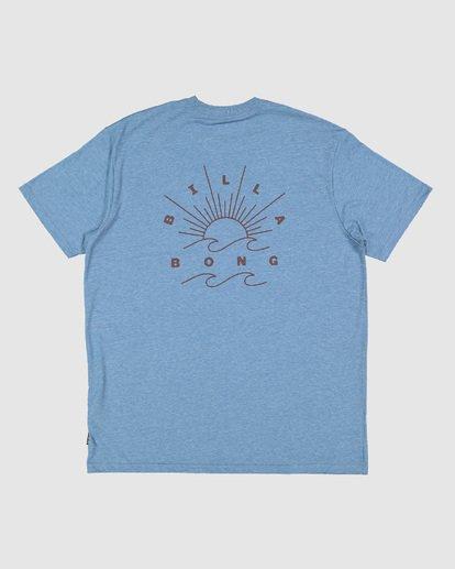 4 Directional Upf 50 Surf Tee Blue 9707510 Billabong