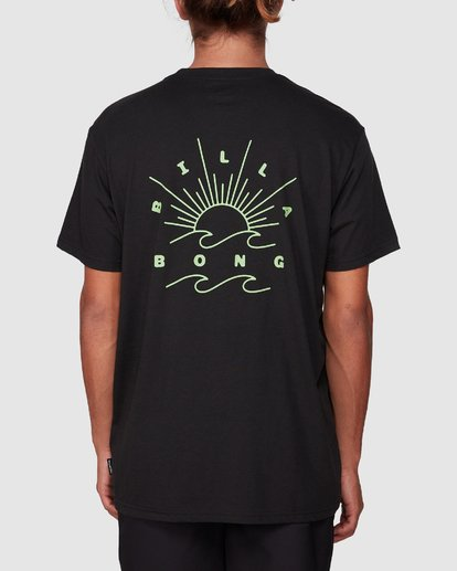 2 Directional Upf 50 Surf Tee Black 9707510 Billabong