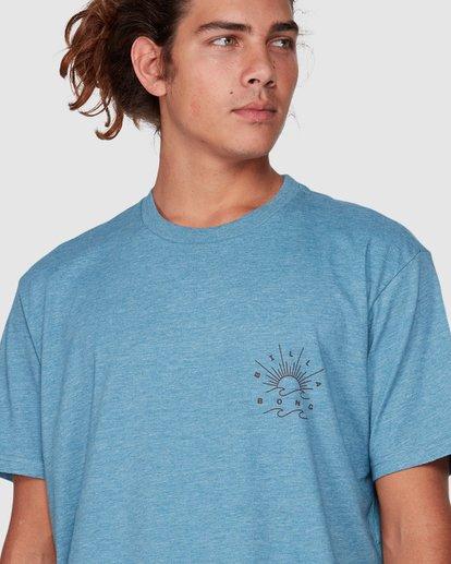 1 Directional Upf 50 Surf Tee Blue 9707510 Billabong