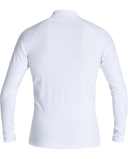 1 Stacked Long Sleeve Performance Fit Rashie White 9707516 Billabong