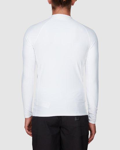 2 Stacked Long Sleeve Performance Fit Rashie White 9707516 Billabong