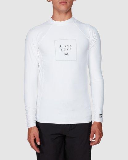 0 Stacked Long Sleeve Pf White 9707516 Billabong