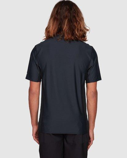 6 Arch Mesh Loose Fit Short Sleeve Rashie Black 9707518 Billabong