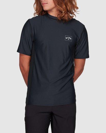 0 Arch Mesh Loose Fit Short Sleeve Rashie Black 9707518 Billabong