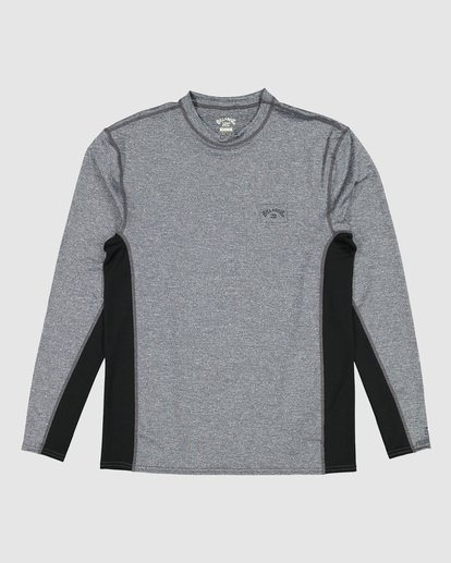 8 Banded Long Sleeve Surf Shirt Grey 9707520 Billabong