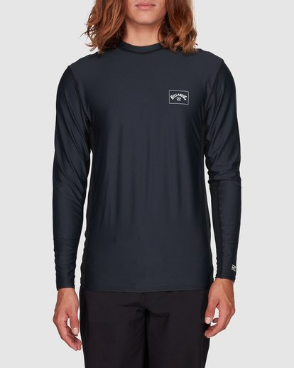 1 Banded Long Sleeve Surf Shirt Black 9707520 Billabong