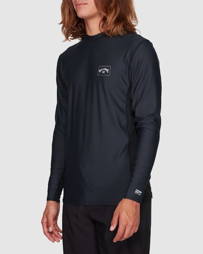 2 Banded Long Sleeve Surf Shirt Black 9707520 Billabong