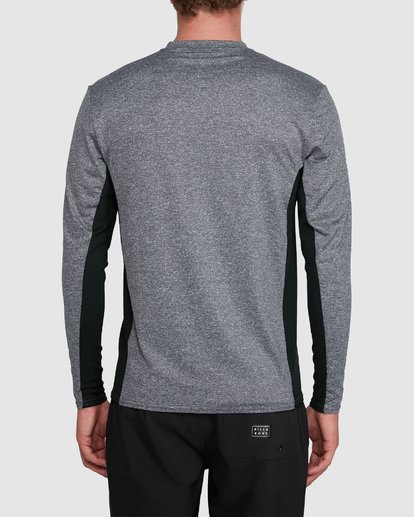 2 Banded Long Sleeve Surf Shirt Grey 9707520 Billabong