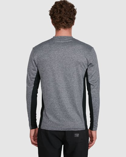 5 Banded Long Sleeve Surf Shirt Grey 9707520 Billabong