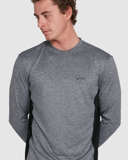 6 Banded Long Sleeve Surf Shirt Grey 9707520 Billabong