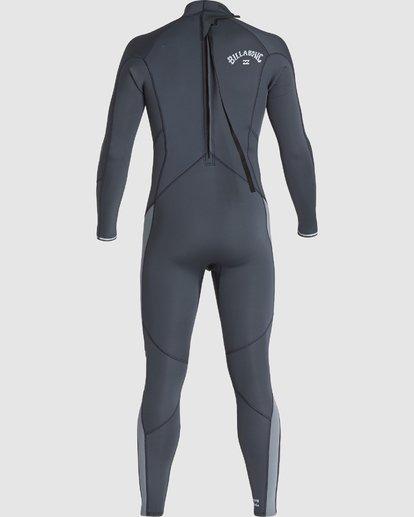 2 302 Absolute Flatlock Back Zip Fullsuit Grey 9707700 Billabong