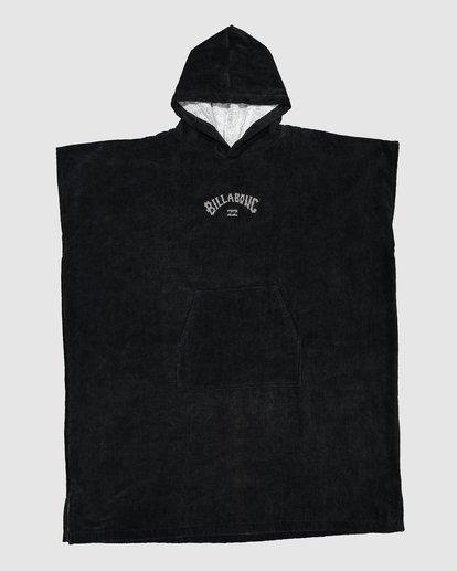0 Wetsuit Hoodie Towel Black 9707710 Billabong