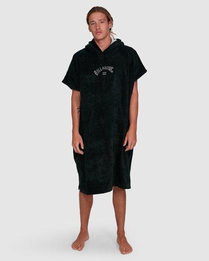 1 Wetsuit Hoodie Towel Black 9707710 Billabong