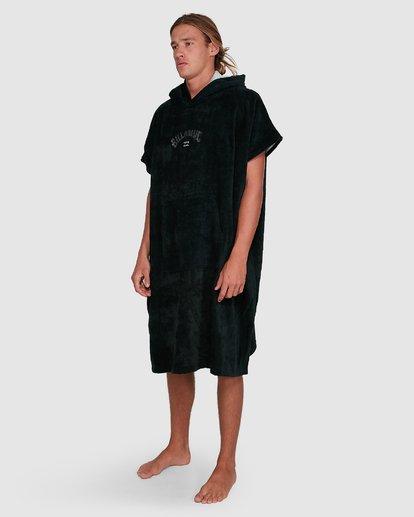 3 Wetsuit Hoodie Towel Black 9707710 Billabong